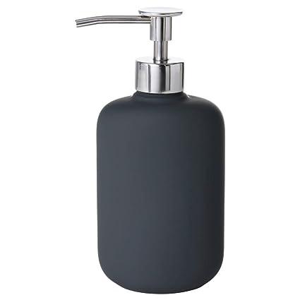 IKEA ASIA EKOLN - Dispensador de jabón, Color Gris Oscuro