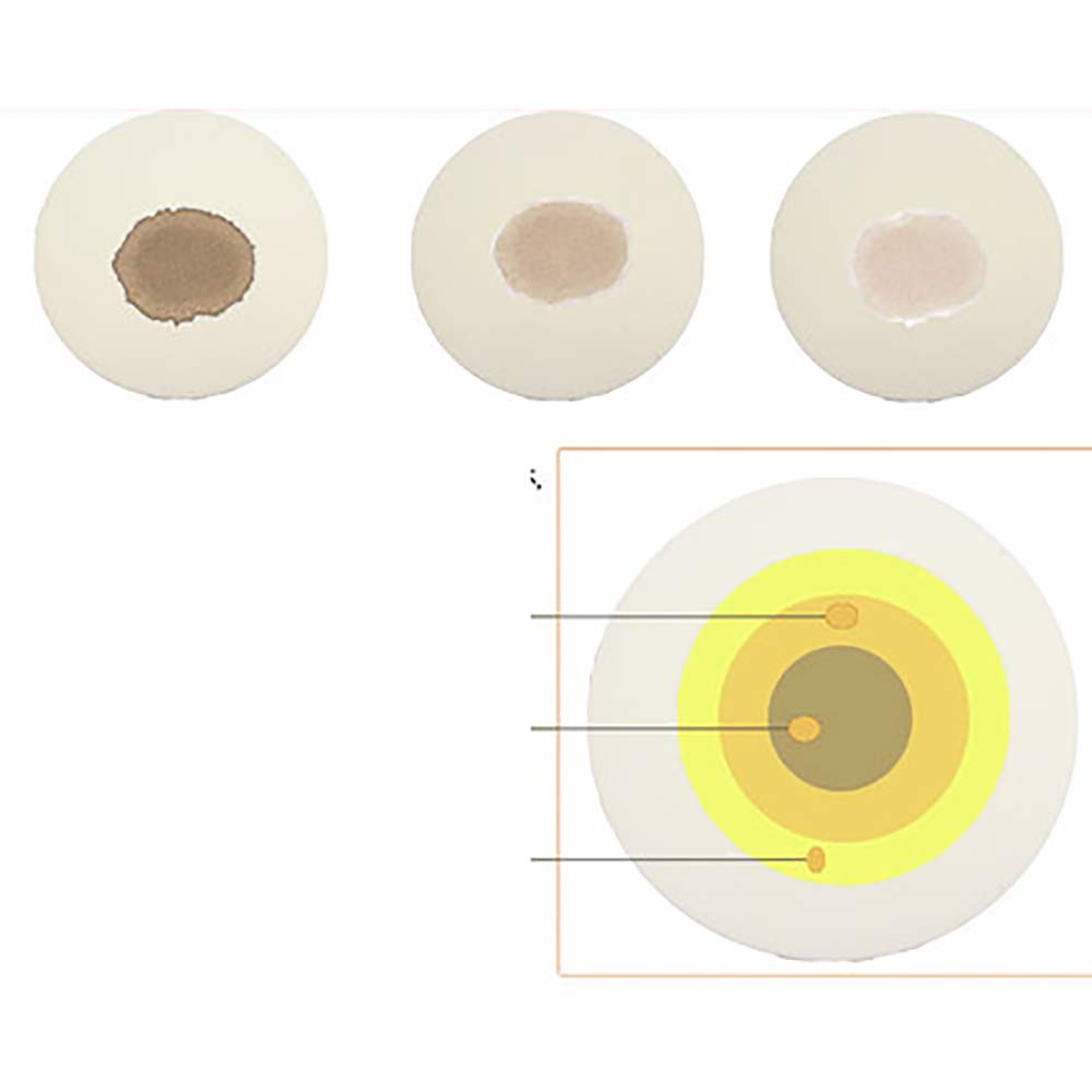 11cm LANTAO Qualitative Analysis Filter Paper//buchner Filter Paper,Oil Test Paper,100pcs//pack