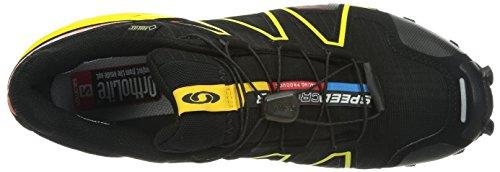 Salomon Speedcross 3 Gtx - Zapatos para hombre Black/Canary Yellow/OR