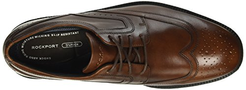 ROCKPORT Wingtip Dressports 8 AU Leather Men Brogue 8 Brown Brown Brown Modern New rBrxwREdqT