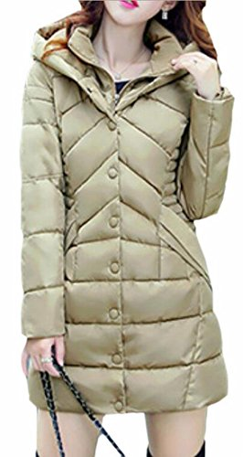 Solid Slim UK 8 Womens Coats Padding Pocket Fit today Quilted Puffer Jacket Eaqwn6U6x1