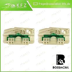 JH, JD/_ Bossmobil FIESTA V Delantero izquierdo kit de reparaci/ón de elevalunas el/éctricos