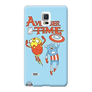 LeoSwiech Samsung Galaxy Note 4 Best Hard Phone Case Customized Vivid Avenger Time Series [eBe20116TXIs]
