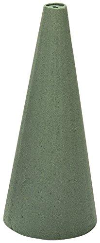 Wet Foam Cone 9X4 1/Pkg-Green
