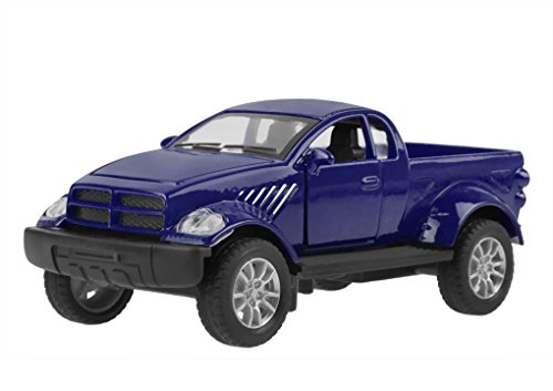 Kids Metal Construction Toy Vehicle Models Playset Friction Pull Back Pickup Truck Collectible Diecast Model Car with Light & Sound 1:32 Scale, Best Christmas Birthday Gift Toys for Kids Toddlers Boys