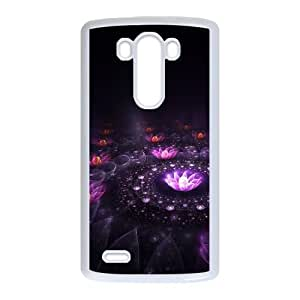 LG G3 Cell Phone Case White Fantasy flowers SLI_649227