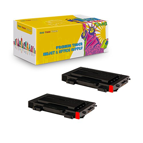 New York TonerTM New Compatible 2 Pack CLP-510D5M High Yield Toner For Samsung - CLP-510N | CLP-510NG . -- Magenta ()