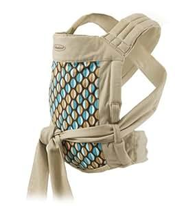 Amazon Com Infantino Wrap And Tie Baby Carrier Khaki