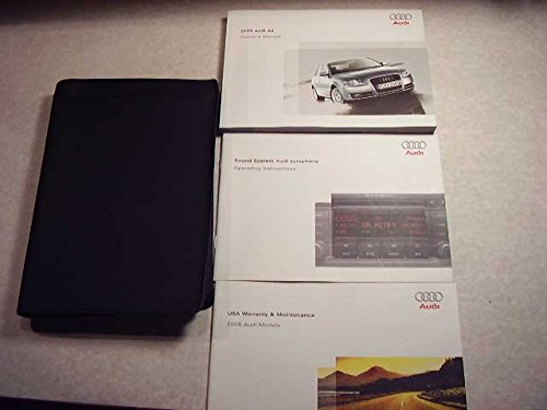 2008 Audi A3 A 3 Owners Manual