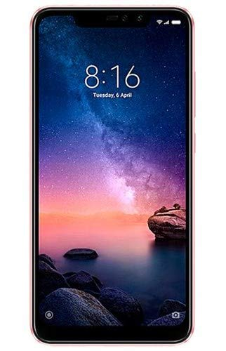 "Xiaomi Redmi Note 6 Pro 64GB + 4GB RAM 6.26"" Dual Camera LTE Factory Unlocked Smartphone - Global Version (Rose Gold)"