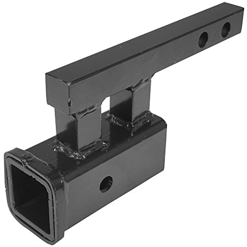 Buy Titan 1.25 to 2 Rise or Drop Trailer Hitch Towing Extension Adapter
