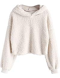 59d8a8e1f4b Amazon.com  Beige - Fashion Hoodies   Sweatshirts   Clothing ...