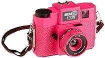 Holga Glo 307120 120N Plastic Medium Format Camera (Fuschia Fusion)