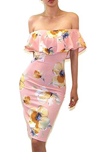 VIVICASTLE Womens shoulder Bodycon X Large product image