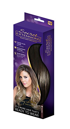 Fuente Natural - Secret Extensions - Hair Extensions by Daisy Fuentes, Brown/Black