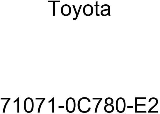 TOYOTA Genuine 71071-0C780-E2 Seat Cushion Cover