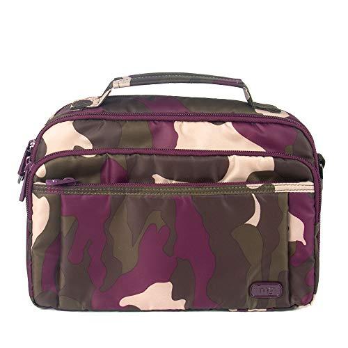 Lug Women's Scoop Crossbody Bag, Camo Berry Cross Body, One Size (Berry Handbags For Women)