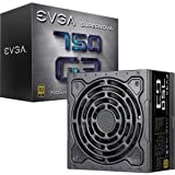 EVGA SuperNOVA 750 G3, 80 Plus Gold 750W, Fully Modular, Eco Mode with New HDB Fan, 10 Year Warranty, Includes Power ON Self Tester, Compact 150mm Size, Power Supply 220-G3-0750-X1