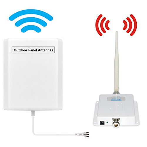 ATT T-Mobile Cell Phone Signal Boosters 4G LTE Mobile Booster HJCINTL FDD Band 12/17 Home Mobile Phone Signal Repeater Booster Kits (Best At&t Cell Phone)