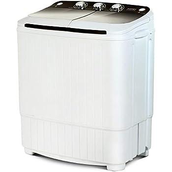 Amazon.com: ROVSUN 13.4LBS Portable Twin Tub Washing Machine ...