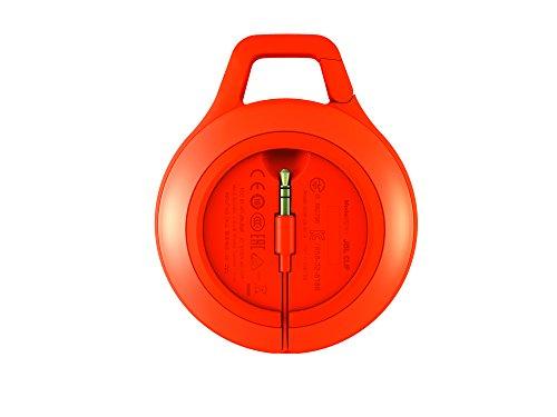 JBL Clip+ Splashproof Portable Bluetooth Speaker (Orange)