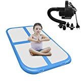 Airacker Air Track, Tumbling Mat, Inflatable Gymnastics Airtrack Mat, Air Floor Mat with Electric Air Pump for Practice Gymnastics,Cheerleading,Tumbling,Parkour