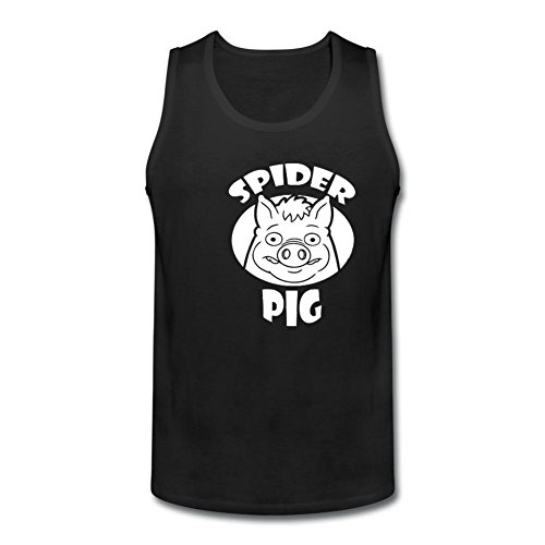 Green Vine Men's Spider Pig Vest Tank