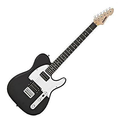 SubZero Paradigm Guitarra Eléctrica Domino Black