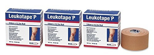 Leukotape P Sports Tape /1 1/2'' X 15 Yd - (Pack of 3) by BEIERSDORF JOBST/WOUND