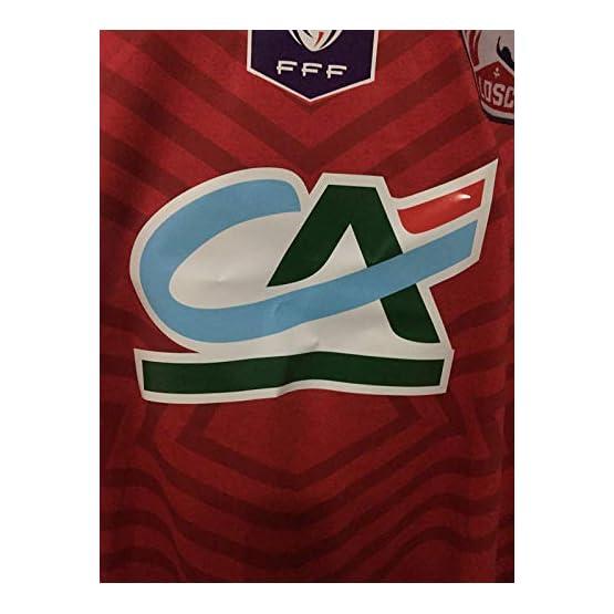 BROOK Lille Home Soccer Jersey Maillot Coupe DE LA France 2018-2019 Full Patch&Sponsor