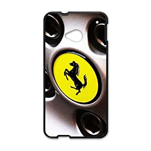 Warm-Dog Ferrari sign fashion cell phone case for HTC One M7