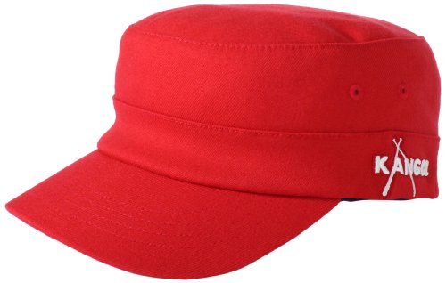 6a452cfa [GOOD CHOICE]Kangol Mens Championship Army Cap, Navy/Red, Large/X-Large