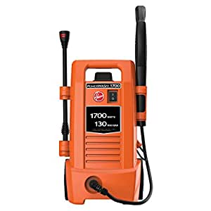 Hoover Power Wash Car Pressure Washer, Orange, 4.9 kg, HPW1C-ME