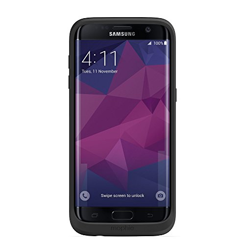 mophie juice pack for Samsung Galaxy S7 Edge (3,300mAh) – Black