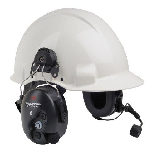 3M PELTOR WS ProTac XP Ear Defender Helmet Mounted, Bluetooth 31 dB Black MT15H7P3EWS5 by