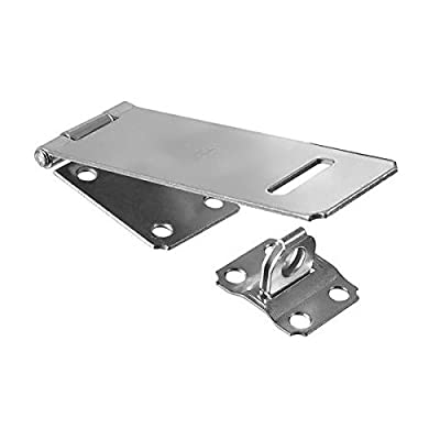 "Ultra Hardware 20700084 Safety Hasp - Fixed Concealed 2-1/2"" - Zinc"