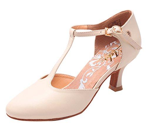 Zapatillas De Salón Para Mujer Aplus Ladies A6040 Con 2,5 Talones Desnudos