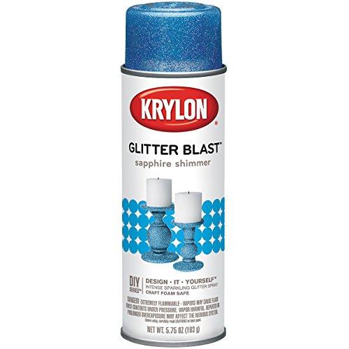 (Glitter Blast Aerosol Spray 5.75oz-Sapphire Shimmer)