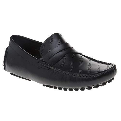 (Versace Jeans Driver Mens Shoes Black)