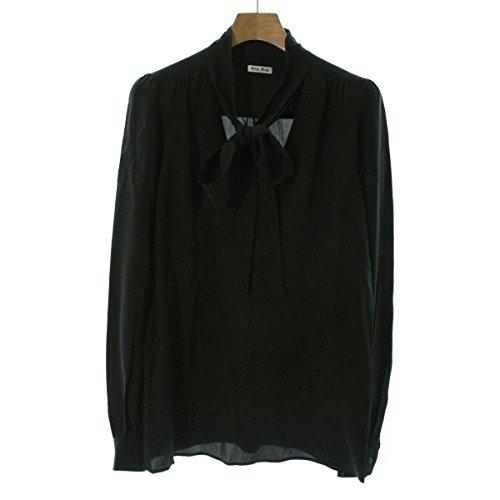 黒くする精通したブラジャー(ミュウミュウ) MIUMIU レディース シャツ 中古
