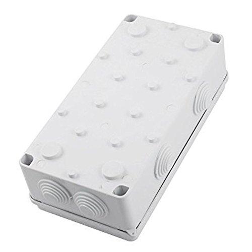 ABS IP65 wasserdicht Abzweigkasten Abzweigdose 26 mm Loch 8 Kabel 200x100x70 Mm TOOGOO Wasserdichte Anschlussdose R