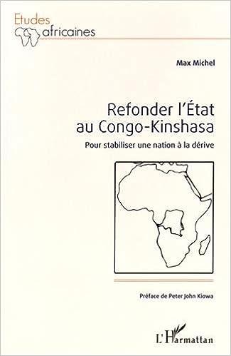 Téléchargement Refonder l'État au Congo-Kinshasa pdf, epub ebook
