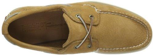 Timberland Earthkeepers Heritage Boat 2 Eye - Zapatos de cuero para hombre marrón - Braun (LIGHT BROWN)