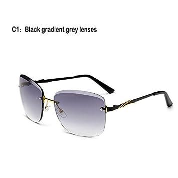 TL-Sunglasses Gafas de Sol Mujer sin Reborde de Cristal ...