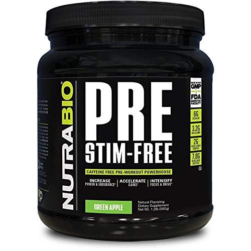 NutraBio PRE Stim Free - Caffeine Free Pre Workout (Green Apple) by NutraBio (Image #3)