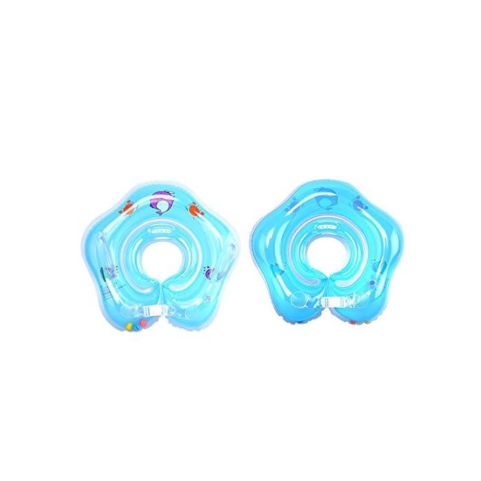 41rMZp7s3RL Suave y cómodo: El diámetro interior del bebé nadar anillo con costuras de tecnología sin costura, protege la piel delicada de su bebé. Salud y protección del medio ambiente: El uso de materiales respetuosos del medio ambiente del PVC, no tóxico, garantía de calidad. Especificación: Diámetro interno aproximadamente 9cm / 3.5inch. Diámetro exterior aproximadamente 39cm / 15.3inch.