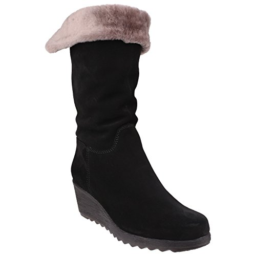 The Suede Fur Womens Black A Pick Flexx wHqC7wx1F