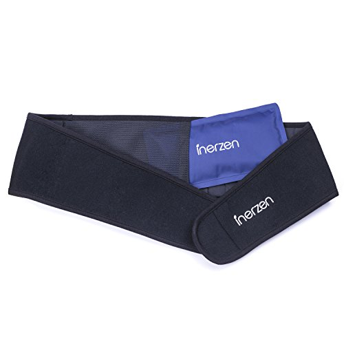Inerzen-Back-and-Waist-Hot-and-Cold-Gel-Pad-Therapy-Wrap-for-Pain-Muscle-Stress-Relief-Microwavable-Freezable