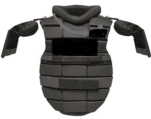 Hatch Centurion Upper Body and Shoulder Protection, Large, Black