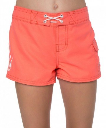Cowell Boardshorts (Little Kids/Big Kids) Bright Urchin 8 ()